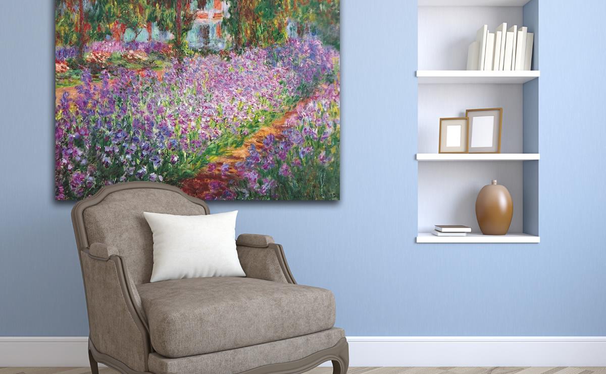 Cuadros de Monet, pinturas francesas al óleo.