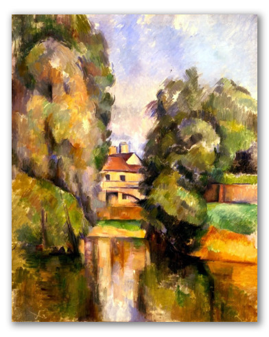 Casa de Campo y un Río