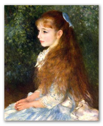 Retrato de Irene Cahen