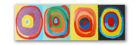 Homenaje a Kandinsky - Ángeles Croxatto