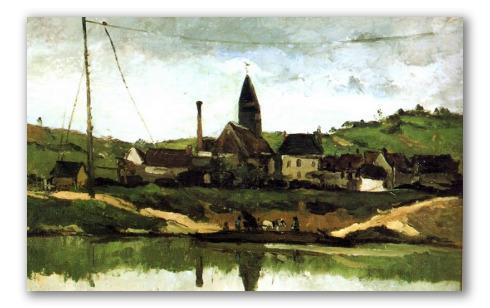 Vista de Bonnieres