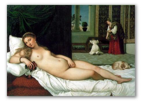 "Obra ""Venus de Urbino"""