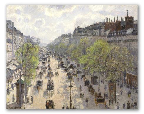 Boulevard Montmartre, Primavera