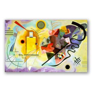 Amarillo, rojo y azul - Kandinsky