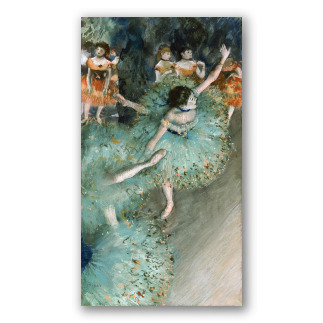 Bailarina basculando