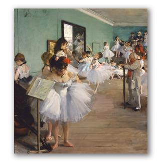 La clase de danza (en el Museo MET)