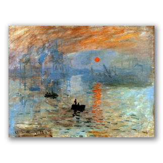Impression Sunrise - Monet