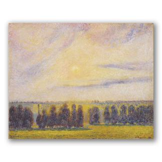 Puesta de Sol en Éragny