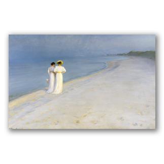 Tarde de Verano en la Playa de Skagen - P. S. Krøyer