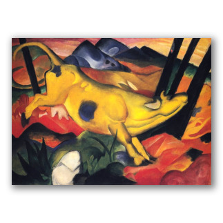 Vaca amarilla - Franz Marc