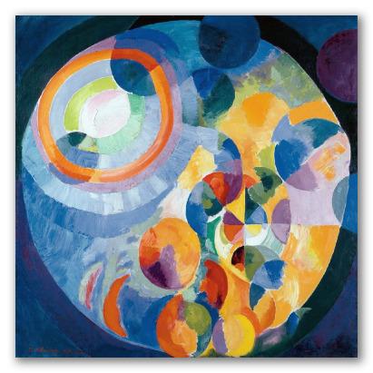 Formas circulares, sol y luna