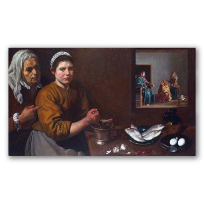 Cristo en casa de Marta y María